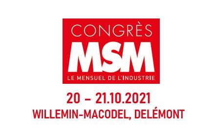 Logo Congress MSM 2021